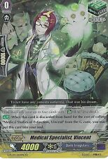 CARDFIGHT VANGUARD CARD: MEDICAL SPECIALIST, VINCENT - G-FC04/064EN RR