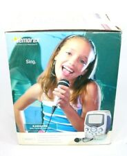 Memorex Karaoke System Machine MKS8501 with Microphone and CD's