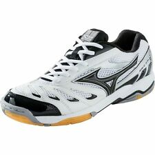 Mizuno Wave Rally 5 Volleyball Shoes White/Black (Women's Size 10.5 / Men's 9)