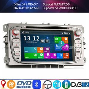 Car radio for ford focus mondeo galaxy c/s-max dvd gps 3g dvr tnt - in usb sd dvr