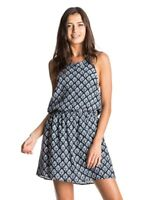 NWT Roxy Women's Really Unique Halter Dress Beach Coverup Size Large L