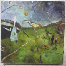 EMILY HALPERN Small Surrealist Dadaism Oil Resin Print Contemporary LA Brewery
