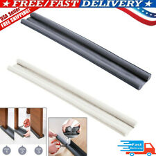 93cm Flexible Door Bottom Sealing Strip Guard Sealer Stopper Door Weatherstrip