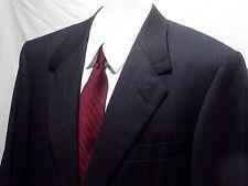 Men's Oxxford Clothes Manhattan Grey Wool Sports Coat Blazer Jacket 2 BTN S-44L