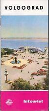 Vintage 1960's Soviet Union USSR Intourist Travel Brochure - Volgograd