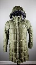 The North Face Metropolis 600 Goose Down Puffy Coat Jacket Women's Medium Olive