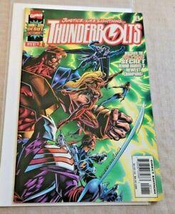 Thunderbolts #1 NM- 1997 Marvel Comics