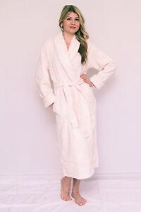 Chenille Bathrobe Embroidered Shawl Collar Luxury Robe Gown Plus Size