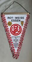 *RAR* Großer Wimpel 40cm Rot Weiss Essen Regionalliga Fussball DFB Amateur RWE