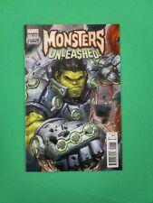 Monster Unleashed #1 Hulk 1:25 Variant Marvel Comics