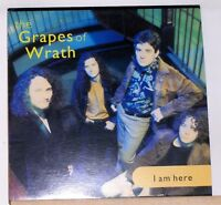 THE GRAPES OF WRATH - I AM HERE - 1991 CAPITOL LP Record - Near Mint Vinyl