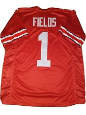 New Justin Fields Lg Ohio State College Custom Stitched Football Jersey Men's