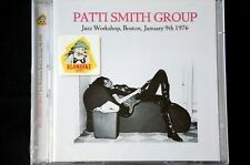 Patti Smith Group Jazz Workshop Boston 1976 remastered CD New + Sealed
