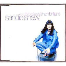 MAXI CD Sandie SHAW Nothing Less Than Brilliant UK 4-track jewel case