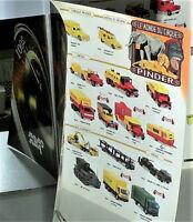 CATALOGUE VEREM 2001 rééditions SOLIDO,MODIFS,CIRQUE PINDER,MILITAIRES,POMPIERS,