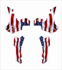 Polaris ACE EPS XC 500 325 570 900 GRAPHIC DECALS WRAP atv SIDE AMERICAN FLAG