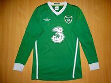 * IRELAND 2010 National Team Football Shirt Jersey UMBRO LONG soccer world euro