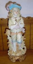 Vintage German Bisque Porcelain Statue / Figurine - 12 3/8""