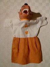VINTAGE RARE HAND PUPPET - PUNCH & JUDY - WOLF