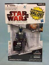 Star Wars Legacy Collection Jango Fett BD15 & Obi-Wan Kenobi BD13 MOSC
