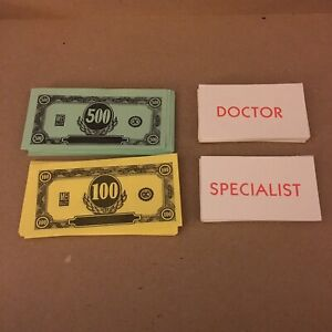 Operation Skill Game Doctor Specialist And Money Replacement Pieces