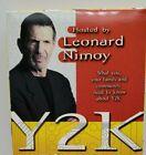 LEONARD NIMOY Y2K Family survival guide VHS tape (OF STAR TREK & SPOCK FAME)