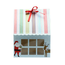 12 x Gift Boxes for 4 Cupcakes Cakes Christmas Party Wedding Favors