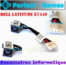 Connecteur alimentation DC power Jack cable connector laptop Dell latitude E7440
