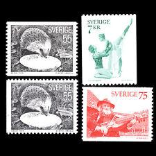 Sweden 1975 - Hedgehog, Key-fiddler & Ballet - Romeo and Juliet - Sc 1139/42 MNH