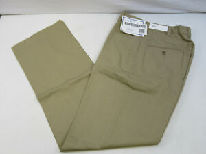 NEW USN US Navy Khaki Military CPO Officer Dress Polyester Pants Trousers 29S