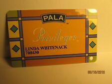 Pala Casino Hotel- Casino Players Card- Pala , Ca.- new
