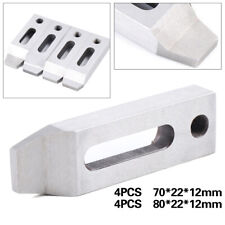 4pcs Cnc Wire Edm Stainless Jig Holder Fixture Board Tool for Clamp&Leveling Usa