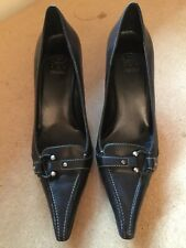 Joan & David Black High Heel Dress pumps size 8