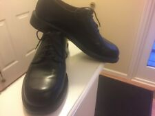 Brooks Brothers Mens Oxford Shoes Black Size 9D ~Retail $428