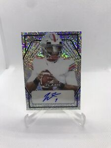 2021 Leaf Flash Justin Fields Auto Rookie RC Ohio State Chicago Bears