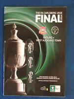 Sholing v West Auckland Town - FA Vase Final 2014 Programme