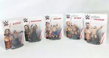 "WWE Mattel 3"" Figure Lot The Rock John Cena AJ Styles Finn Balor Roman Reigns"