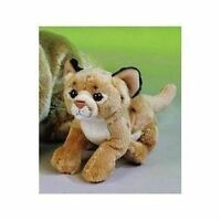 "7"" Puma Cougar Plush Stuffed Animal Toy"