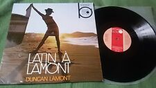 LP: Duncan Lamont & His Latin Rhythm & Brass - Latin A Lamont - 1968 - Rare!
