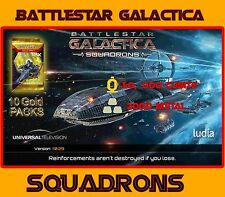 Battlestar galactica escadrons cubits metal gold packs android ios