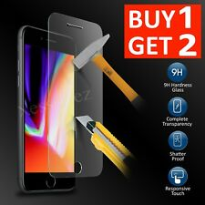 Tempered Glass Screen Protector Film For Apple iPhone 8 Plus - 100%25 Genuine