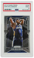 Zion Williamson 2019 Panini Prizm #248 Pelicans Basketball Card PSA Mint 9