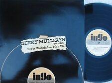 Gerry Mulligan ORIG ITA LP Live in Stockholm May 1957 NM Ingo Jazz Cool