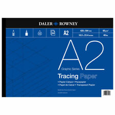 Daler Rowney Tracing Paper Pad - 60 gsm - A2