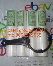 4 PCS Original Kemflo PP/Spun Filter/Pre-Filter Cartridge For RO/UV Purifie[001]