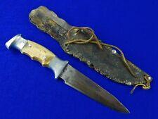 "Vintage US Vietnam Era Custom Hand Made RUANA "" Knife "" Stamped Fighting Knife"