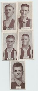 1933 Wills small size cigarette cards VFA  lot of Five very good/Excellent