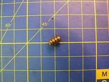 Vis sans fin moteur en laiton axe 1,5 à 2 mm Dia. 6 mm L= 9 mm module M 0.6