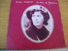 MIKE OLDFIELD CRIME OF PASSION  7""