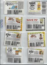 10 COUPON SLEEVES PAGES ORGANIZER STORAGE 8 POCKET CARD